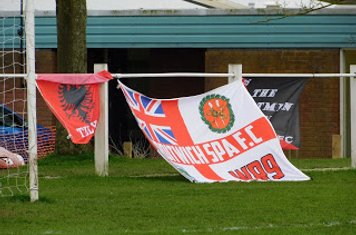 DSFC flags v Redditch Borough - courtesy of Peter Ray