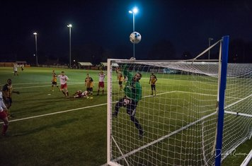 Denton pushes Seabourne's effort over v Paget Rangers (A) photo courtesy of David Rawlings