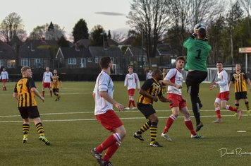 Denton claims ahead of Seabourne v Paget Rangers (A) photo courtesy of David Rawlings