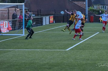Louis Bridges gets a header in v Paget Rangers (A) photo courtesy of David Rawlings