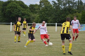 Macauley Finch  vs Kington Town - courtesy of Owen Morris