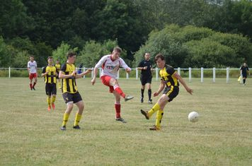 Nick Seabourne vs Kington Town - photo courtesy of Owen Morris