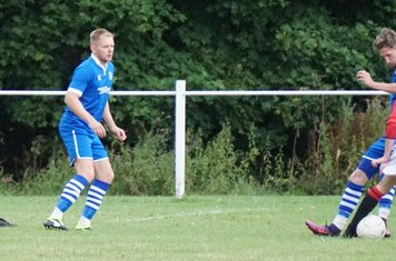 Brad Burgess  vs FC Stratford - courtesy of Mathew Mason