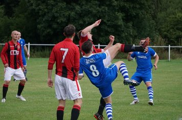 Max Crisp  vs FC Stratford - courtesy of Mathew Mason