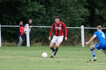 James Lemon  vs FC Stratford - courtesy of Mathew Mason