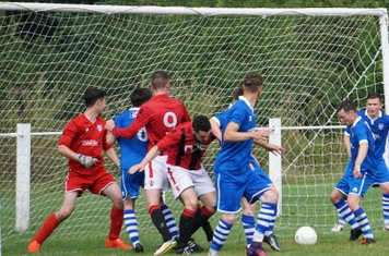 Scramble  vs FC Stratford - courtesy of Mathew Mason