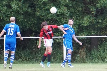 New signing Curtis Townley  vs FC Stratford - courtesy of Mathew Mason