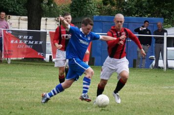 Macauley Finch  vs FC Stratford - courtesy of Mathew Mason