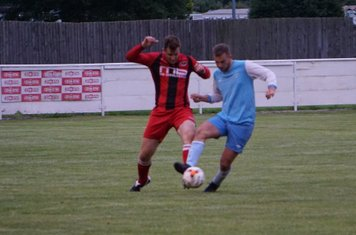 Mark Burrows vs Pelsall Villa - photo courtesy of Mathew Mason