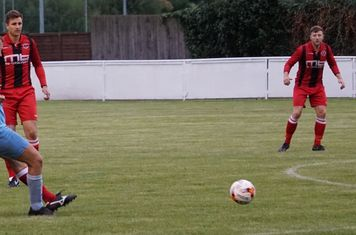 Mike Seeley vs Pelsall Villa - photo courtesy of Mathew Mason