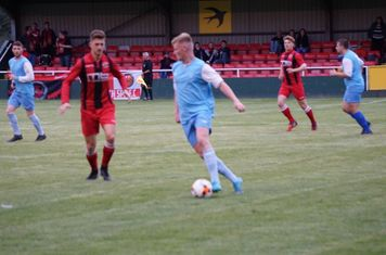 Jack Allerton vs Pelsall Villa - photo courtesy of Mathew Mason