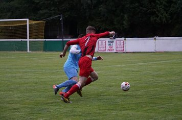 Nick Seabourne vs Pelsall Villa - photo courtesy of Mathew Mason