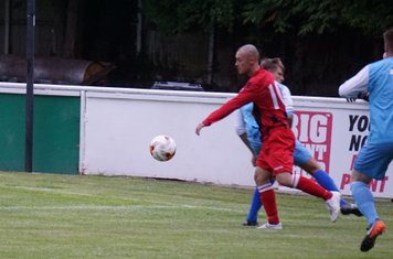 Macauley Finch vs Pelsall Villa - photo courtesy of Mathew Mason