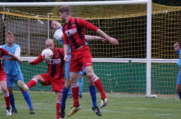 (L-R) Lemon, Finch & Seabourne  vs Pelsall Villa - photo courtesy of Mathew Mason