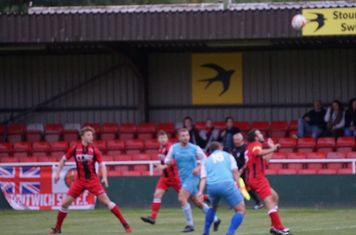 (L-R) Crisp, Glover & Seeley  vs Pelsall Villa - photo courtesy of Mathew Mason