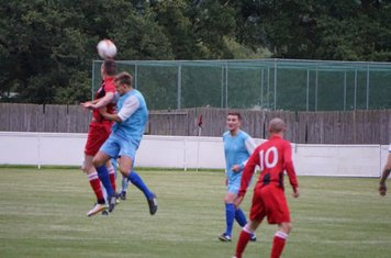 James Lemon vs Pelsall Villa - photo courtesy of Mathew Mason