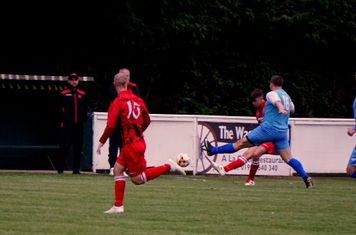 Curtis Townley vs Pelsall Villa - photo courtesy of Mathew Mason