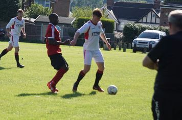 Max Crisp vs Fairfield Villa (A) photo courtesy of Mathew Mason