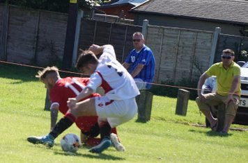 Curtis Townley vs Fairfield Villa (A) photo courtesy of Mathew Mason