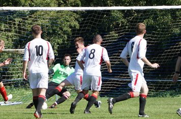 Oliver makes another stop vs Fairfield Villa (A) photo courtesy of Mathew Mason