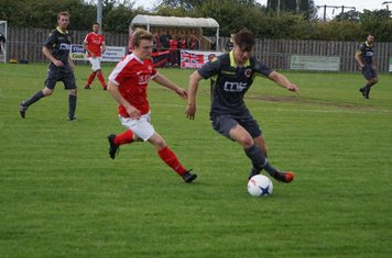 Max Crisp  vs Pegasus Juniors (A) FA Vase 1QR - photo courtesy of Mathew Mason