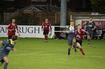 Jack Allerton v AFC Wulfrunians - photo courtesy of Mathew Mason