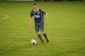 Graeme Pardoe v AFC Wulfrunians - photo courtesy of Mathew Mason
