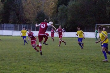 Louis Bridges v Alcester Town (H) - photo courtesy of Mathew Mason