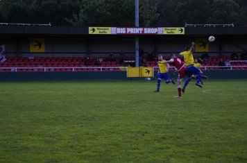 James Lemon v Alcester Town (H) - photo courtesy of Mathew Mason