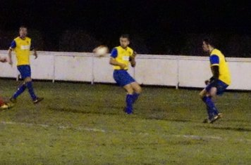Nick Seabourne v Northfield Town (H) photo courtesy of Mathew Mason