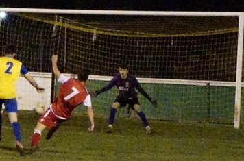 Bradley Burgess v Northfield Town (H) photo courtesy of Mathew Mason