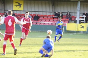 Jack Allerton vs Moors Academy - photo courtesy of Mathew Mason