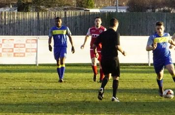 Defending vs Moors Academy - photo courtesy of Mathew Mason