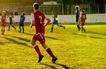 Allerton lines up a shot vs Moors Academy - photo courtesy of Mathew Mason