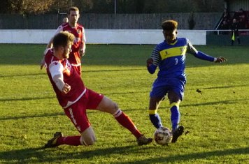 Nick Seabourne vs Moors Academy - photo courtesy of Mathew Mason