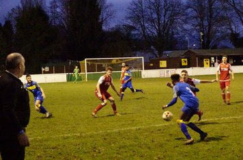 Dan Cottrill vs Moors Academy - photo courtesy of Mathew Mason