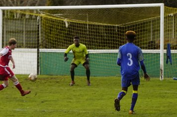Haydn Morris shoots vs Moors Academy - photo courtesy of Mathew Mason