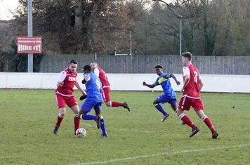 Matty Hunt vs Moors Academy - photo courtesy of Mathew Mason
