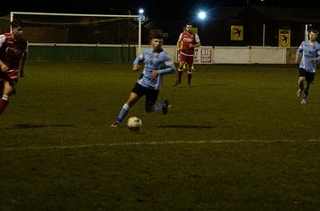 Curtis Townley v Hampton (H) - photo courtesy of Mathew Mason