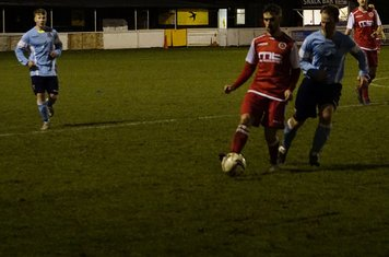 Brad Burgess v Hampton (H) - photo courtesy of Mathew Mason