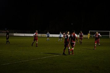 Lemon congratulated on his goal v Hampton (H) - photo courtesy of Mathew Mason