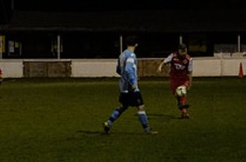 Chris Glover v Hampton (H) - photo courtesy of Mathew Mason