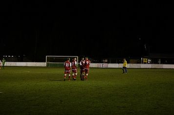 The Saltmen celebrate v Fairfield (H) photo courtesy of Mathew Mason