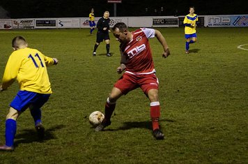Andy Crowther v Fairfield (H) photo courtesy of Mathew Mason