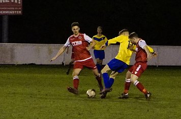 Jack Allerton & Dan Cottrill v Fairfield (H) photo courtesy of Mathew Mason