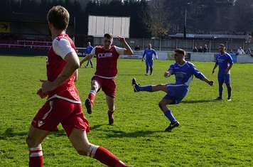 James Lemon  v Bloxwich Town (H) photo courtesy of Mathew Mason