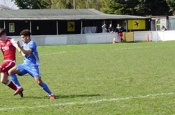 Curtis Townley  v Bloxwich Town (H) photo courtesy of Mathew Mason