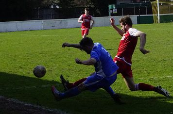 Nick Seabourne v Bloxwich Town (H) photo courtesy of Mathew Mason