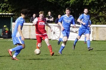 Haydn Morris  v Bloxwich Town (H) photo courtesy of Mathew Mason