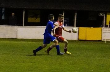 Josh Szikora-Warmington v Redditch Boro' (H) - photo courtesy of Mathew Mason